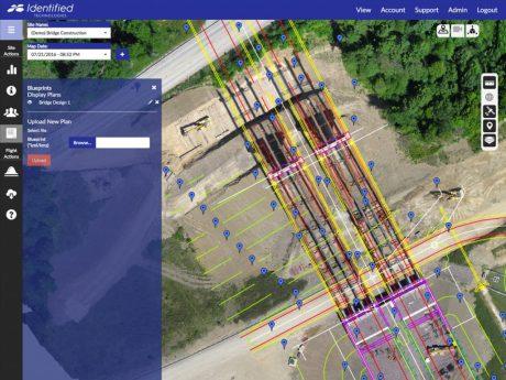 As Built vs As Planned Blueprint Overlay